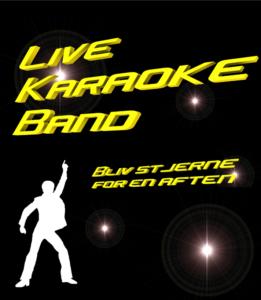 Live Karaoke Band - livemusik med karaoke - orkester - e-ntertainment.dk